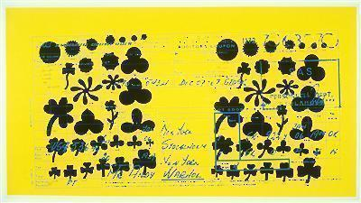 SAS Passenger Ticket, 1968 By Andy Warhol