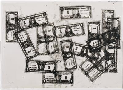 One Dollar Bills, 1962 By Andy Warhol