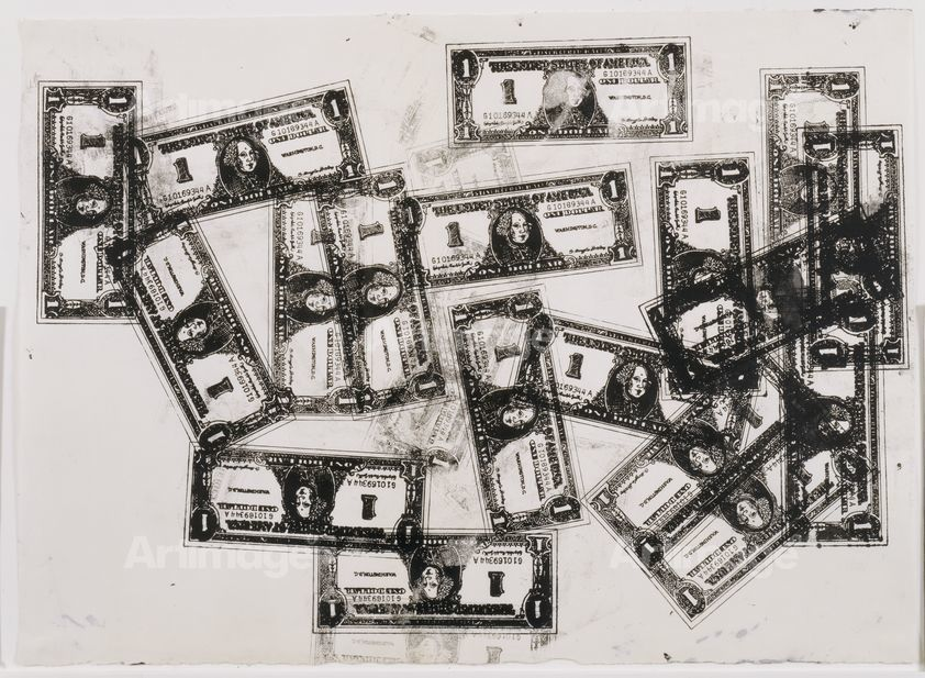 one dollar bills, 1962  andy warhol request image