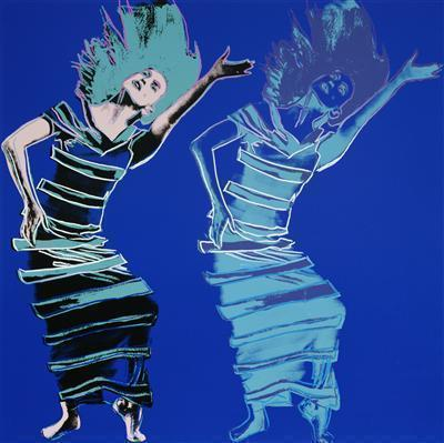 Martha Graham: Satyric Festival Song, 1986 By Andy Warhol