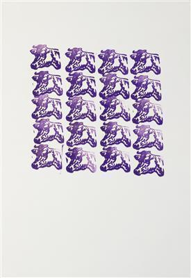 Purple Cows, 1967 By Andy Warhol