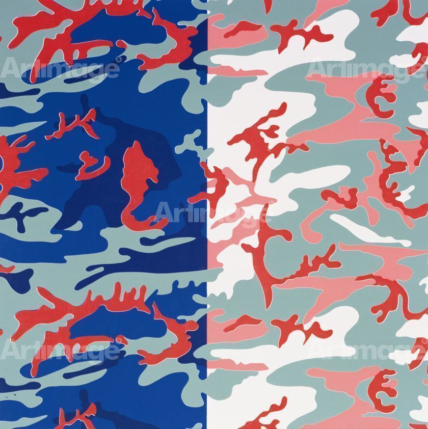 Enlarged version of Camouflage, 1987