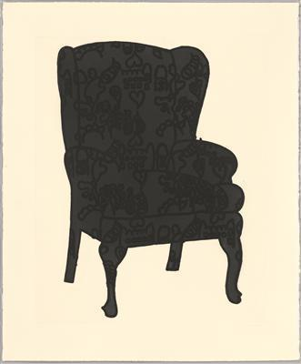 Black Love Chair, 2006