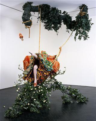 The Swing (after Fragonard), 2001 By Yinka Shonibare CBE