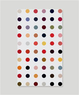Acrolein, 1992 By Damien Hirst