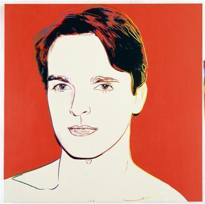 Miguel Bose, 1983 By Andy Warhol