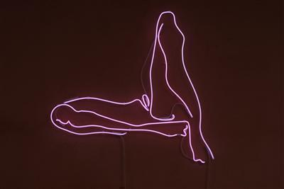 Legs IV, 2007 By Tracey Emin