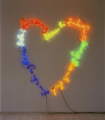 fuckingbeautiful, (rainbow), 2002 By Tim Noble and Sue Webster