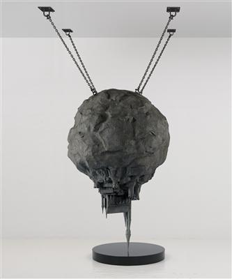 Geno Pheno Sculpture: As Echoes Distort a Fortress, 2005 By Keith Tyson