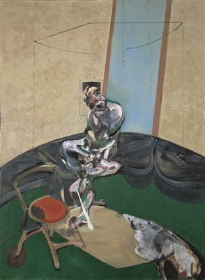 Portrait of George Dyer Staring at Blind Cord, 1966 By Francis Bacon