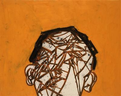 Head, 2001 By Tony Bevan