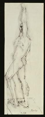 Study for Figure, 1955