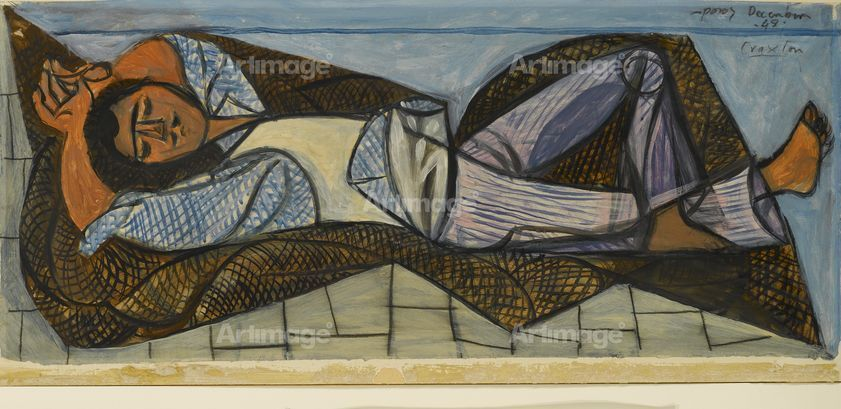 Study for Sleeping Fisherman, 1948