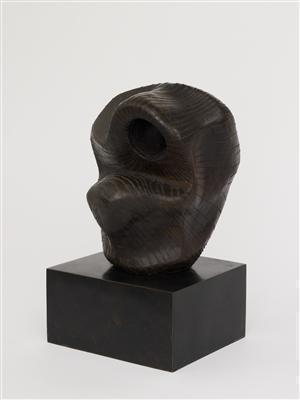 Head: Lines, 1955 By Henry Moore