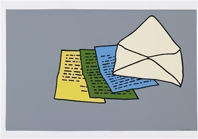 The Letter, 1967 By Patrick Caulfield