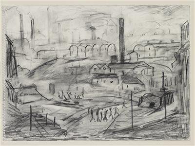 Steelworks, 1960 By LS Lowry