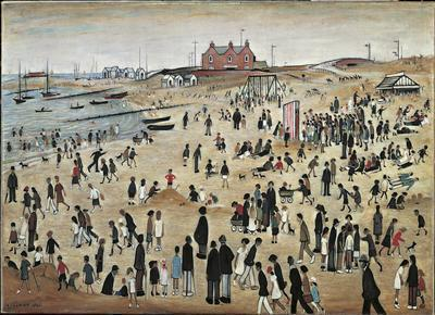 July, the Seaside, 1943 By LS Lowry