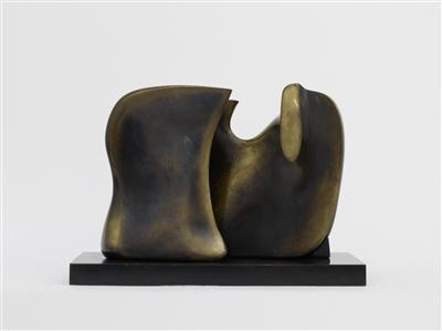 Working Model for Knife Edge Two Piece, 1962 By Henry Moore