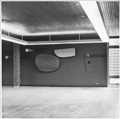 Photo of Mural Relief, 1958 - at Staff Centre, Pilkington Gl...