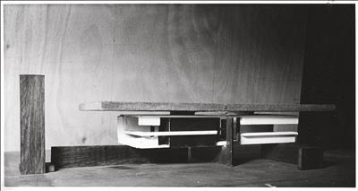 Maquette for Apollo Pavilion at Peterlee, 1968