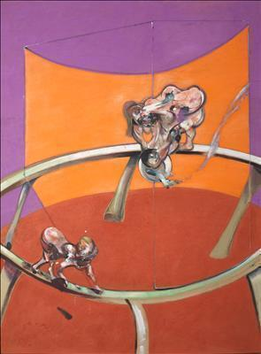 After Muybridge – Woman Emptying a Bowl of Water and Paralyt... By Francis Bacon