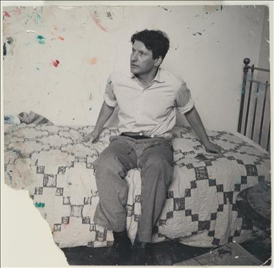 Lucian Freud on Bed, c. 1964 By John Deakin