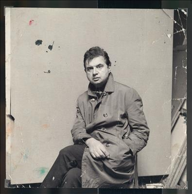 Francis Bacon in Raincoat, c.1967