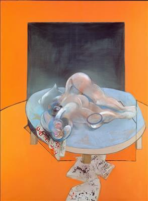 Triptych-Studies of the Human Body, 1979 By Francis Bacon