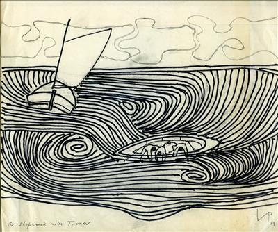 The Shipwreck After Turner, 1989