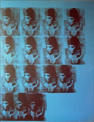 Blue Liz as Cleopatra, 1962 By Andy Warhol