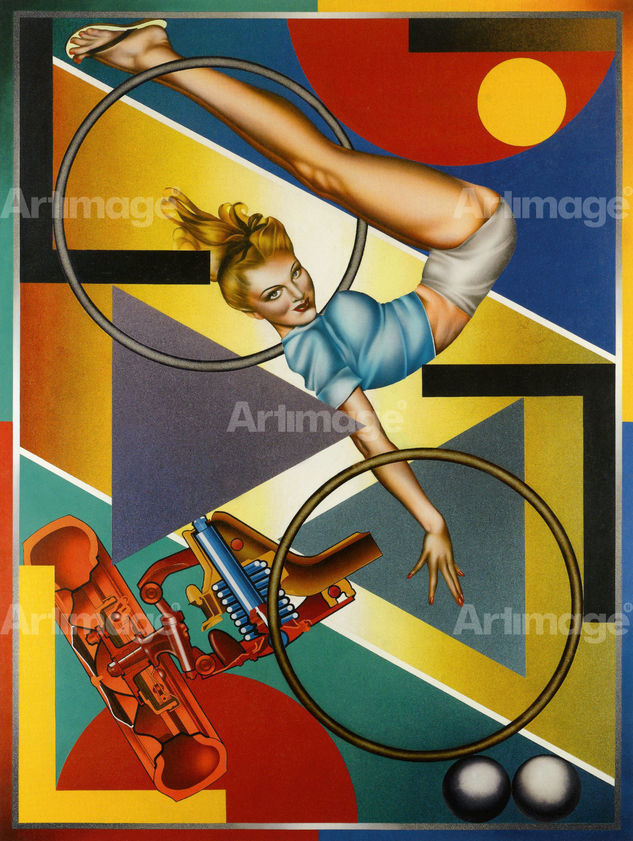 Enlarged version of Art-O-Matic Riding High, 1973-74