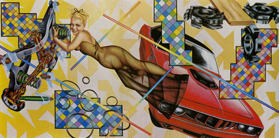 Art-O-Matic Cudacutie, 1972 By Peter Phillips