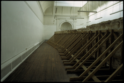 Trench 10 Reverse, Storey Gallery, Lancaster, 2003 By Simon Callery