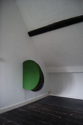 Green Painting Oblique, 2012