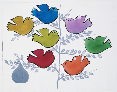 Birds, c. 1959 By Andy Warhol