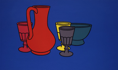 Coloured Still Life, 1967 By Patrick Caulfield