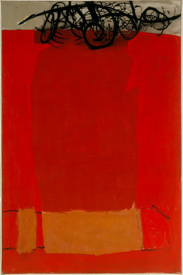 May 1963 (Red), 1963 By Roger Hilton