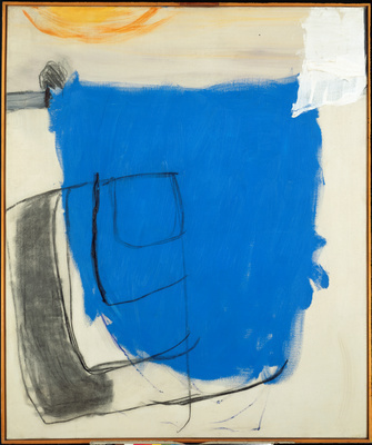 October 1960 (Blue), 1960 By Roger Hilton
