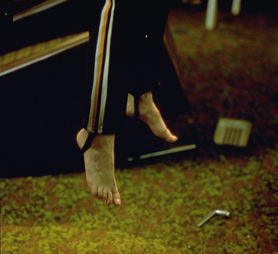 Floating Figure (detail), 1997. Stasi City series.