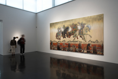 The Four Horsemen of the Apocalypse, 2009 (Installation view...