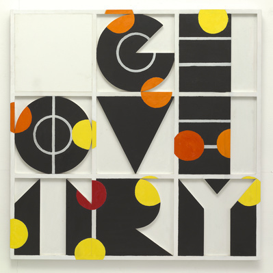 Geometry? 7, 1964 By Joe Tilson